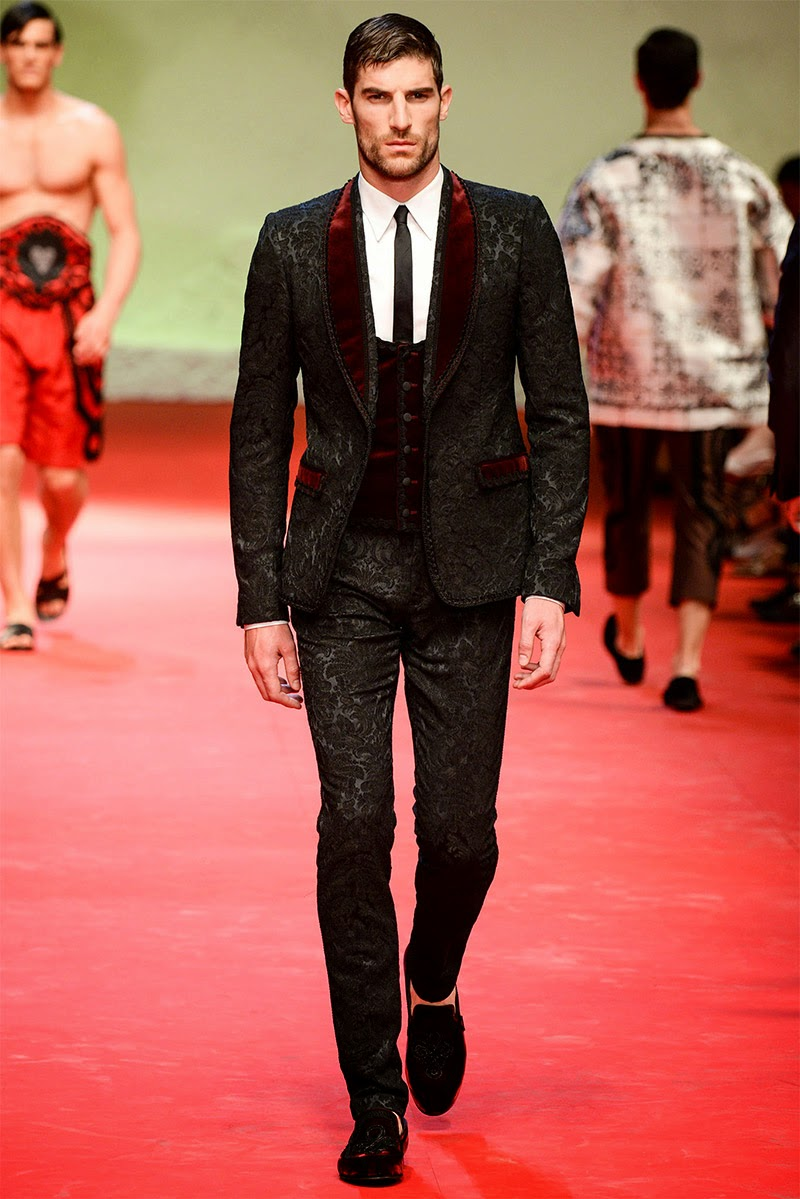 Dolce & Gabbana Spring Summer 2015 Milan Fashion Week